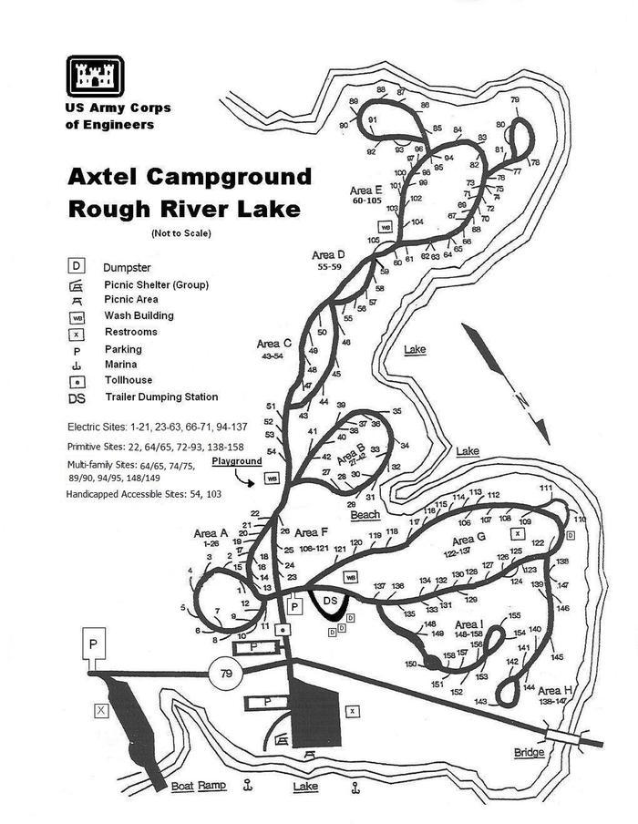Axtel Campground Map