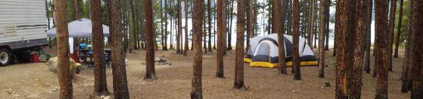 Baby Does Campground, Site 6