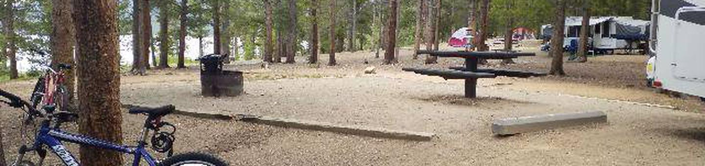 Baby Doe Campground, site 8