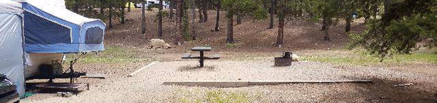 Baby Doe Campground, site 9