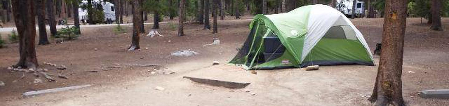 Baby Doe Campground, site 12