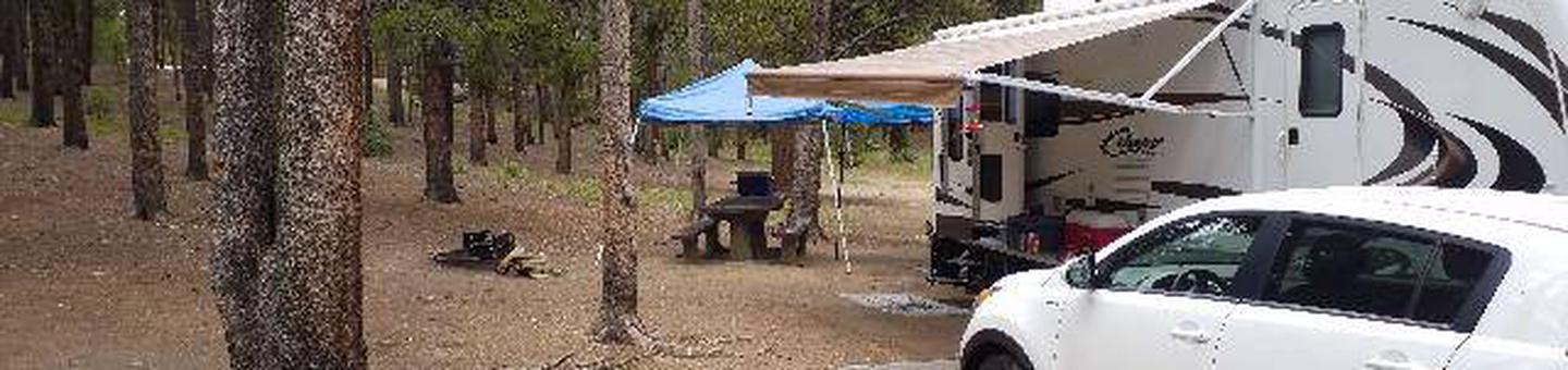 Baby Doe Campground, Site 17