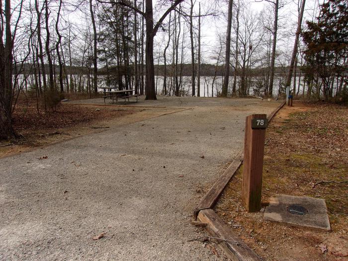 Rudds Creek CampgroundCampsite #78