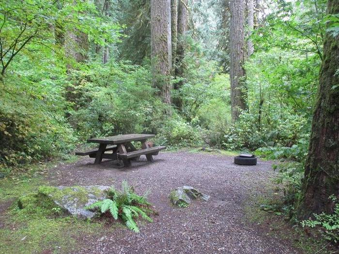 Clear Creek CampgroundSite 7