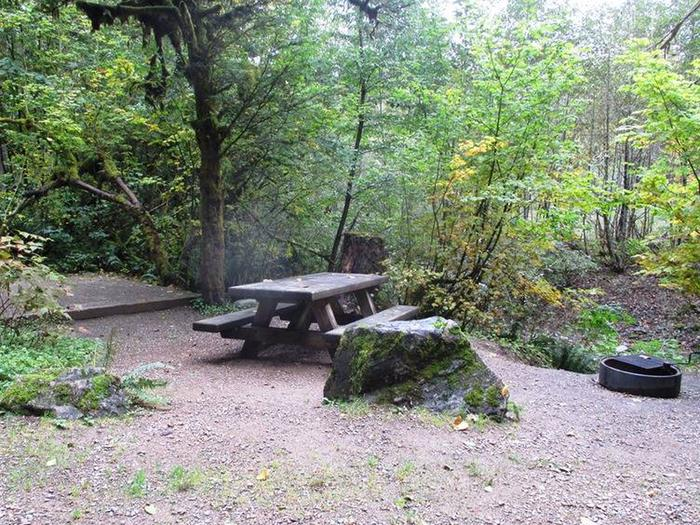 Clear Creek CampgroundSite 10
