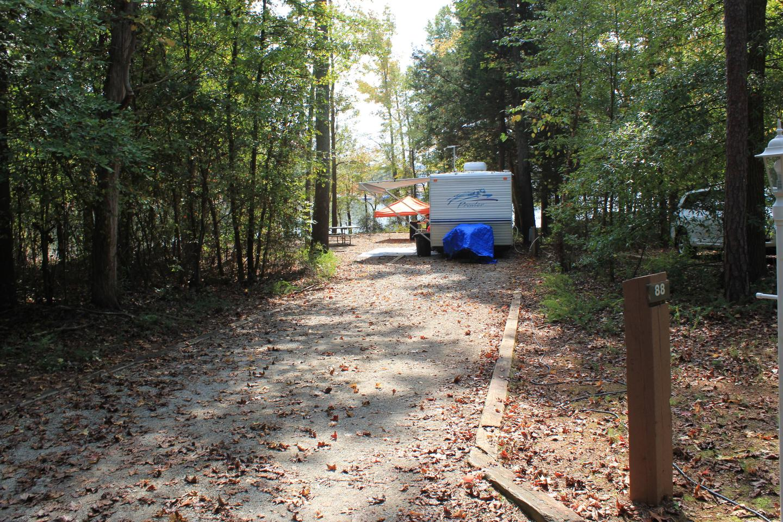 Rudds Creek CampgroundCampsite #88