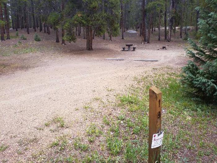 Baby Doe Campground, Site 19 marker