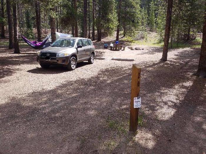 Baby Doe Campground, Site 20 marker