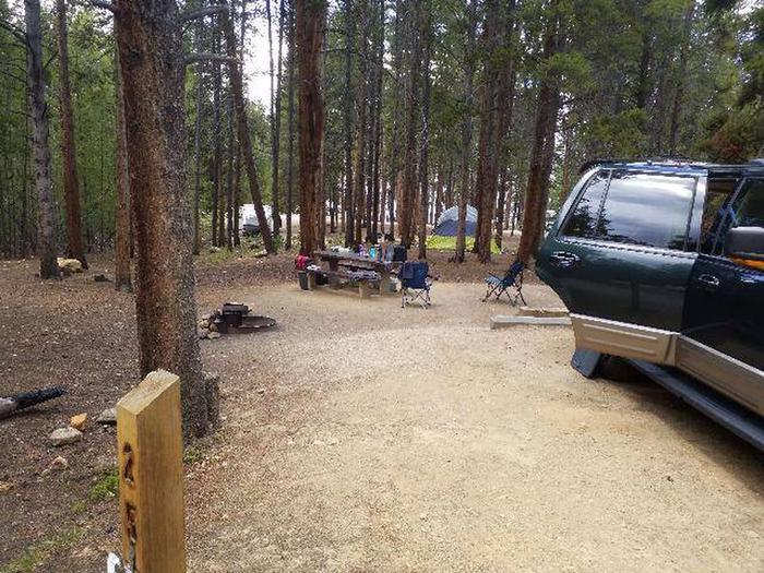 Baby Doe Campground, Site 25 marker