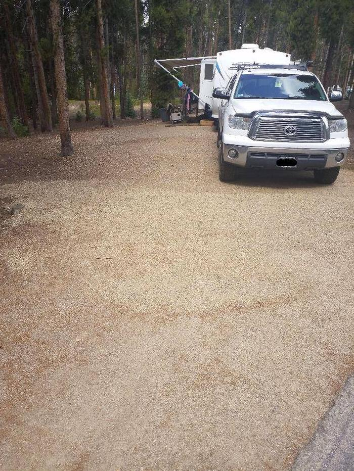 Baby Doe Campground, Site 29 parking