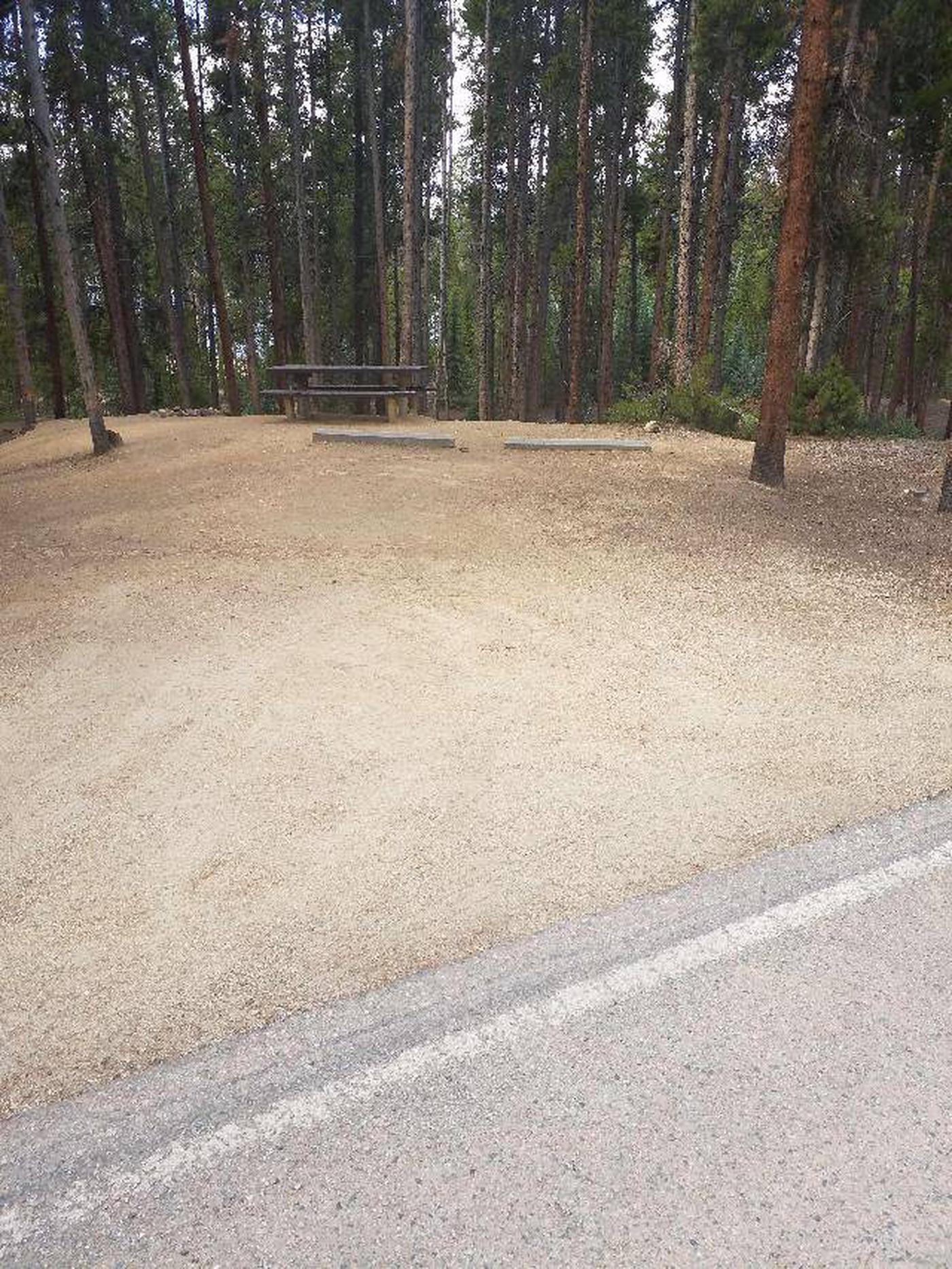 Baby Doe Campground, Site 31 parking