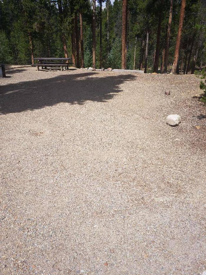 Baby Doe Campground, Site 35 parking