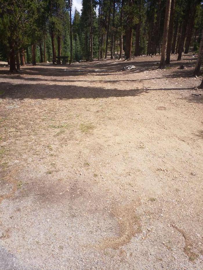 Baby Doe Campground, Site 36 parking