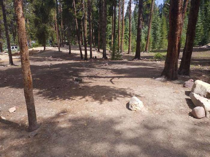 Baby Doe Campground, Site 36 view