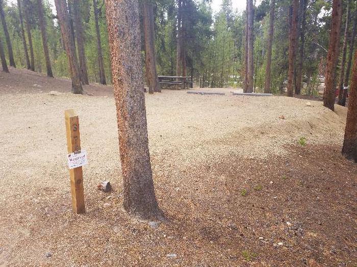Baby Doe Campground, Site 37 marker