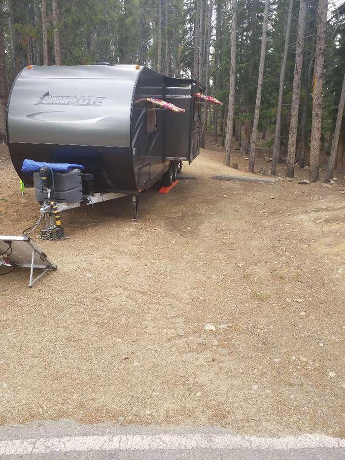Baby Doe Campground, Site 40 parking