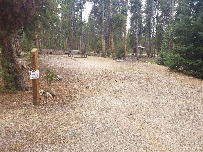 Baby Doe Campground, site 44 marker