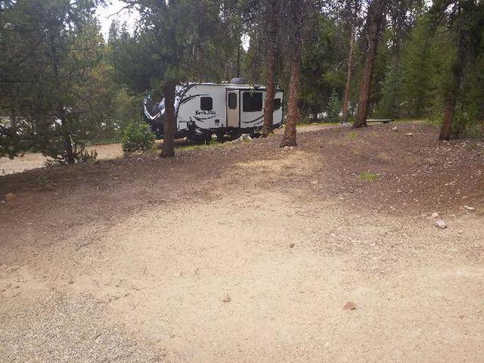 Baby Doe Campground, site 48 clearing