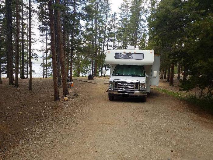 Baby Doe Campground, Site 8 parking