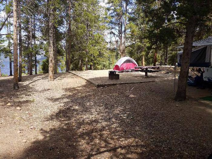 Baby Doe Campground, site 10 sideview