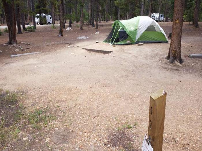 Baby Doe Campground, site 12 marker 2
