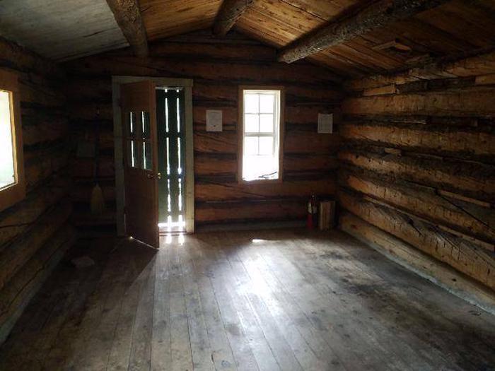 Crescent Mining Camp, Cabin 1 interior