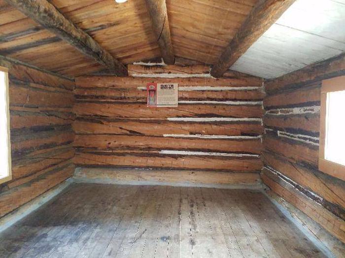 Crescent Mining Camp, Cabin 1 interior 2