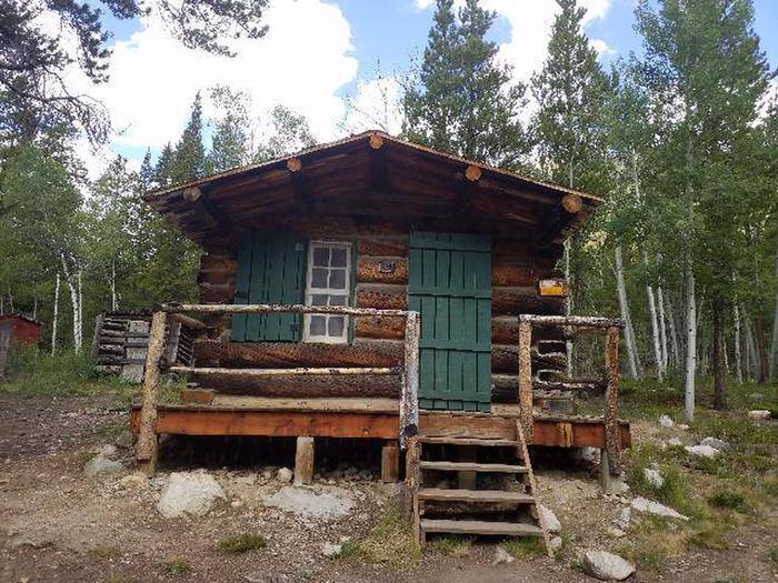 Crescent Mining Camp, Cabin 1 exterior