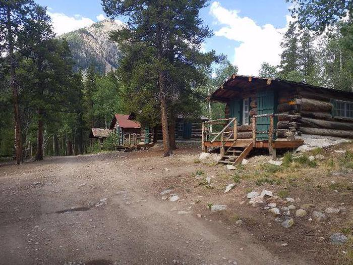 Crescent Mining Camp Cabins view