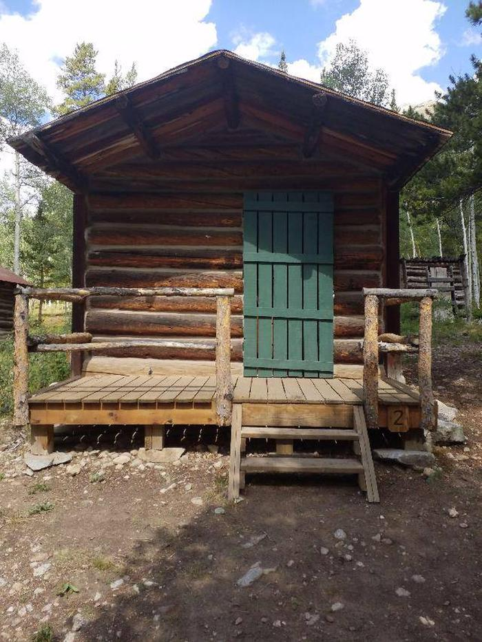 Crescent Mining Camp, Cabin 2 exterior