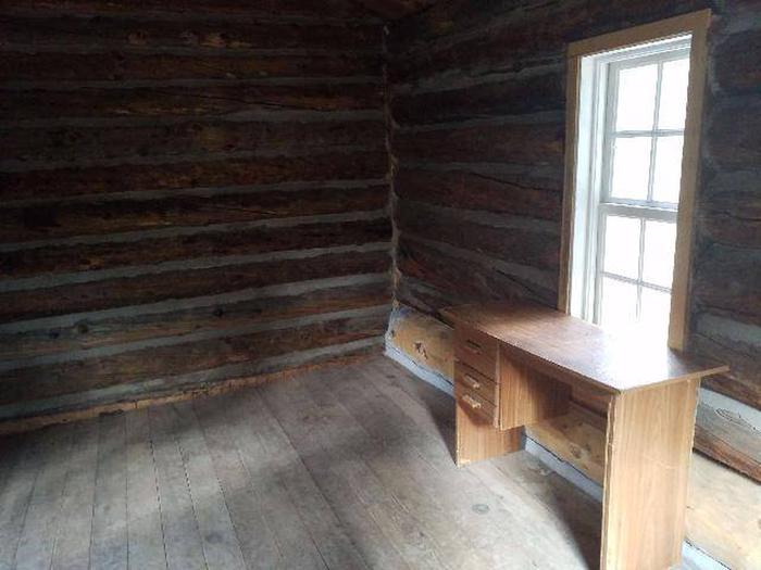 Crescent Mining Camp, Cabin 2 interior