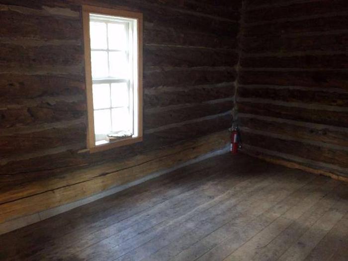 Crescent Mining Camp, Cabin 2 interior 2