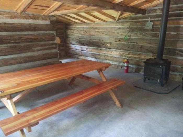 Dawson Cabin interior 2