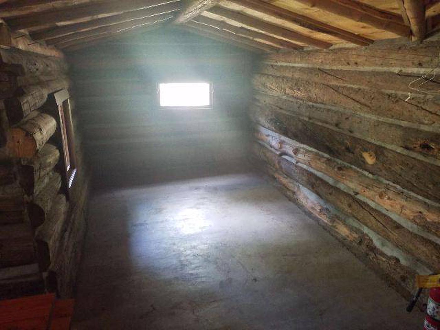 Dawson Cabin interior 1