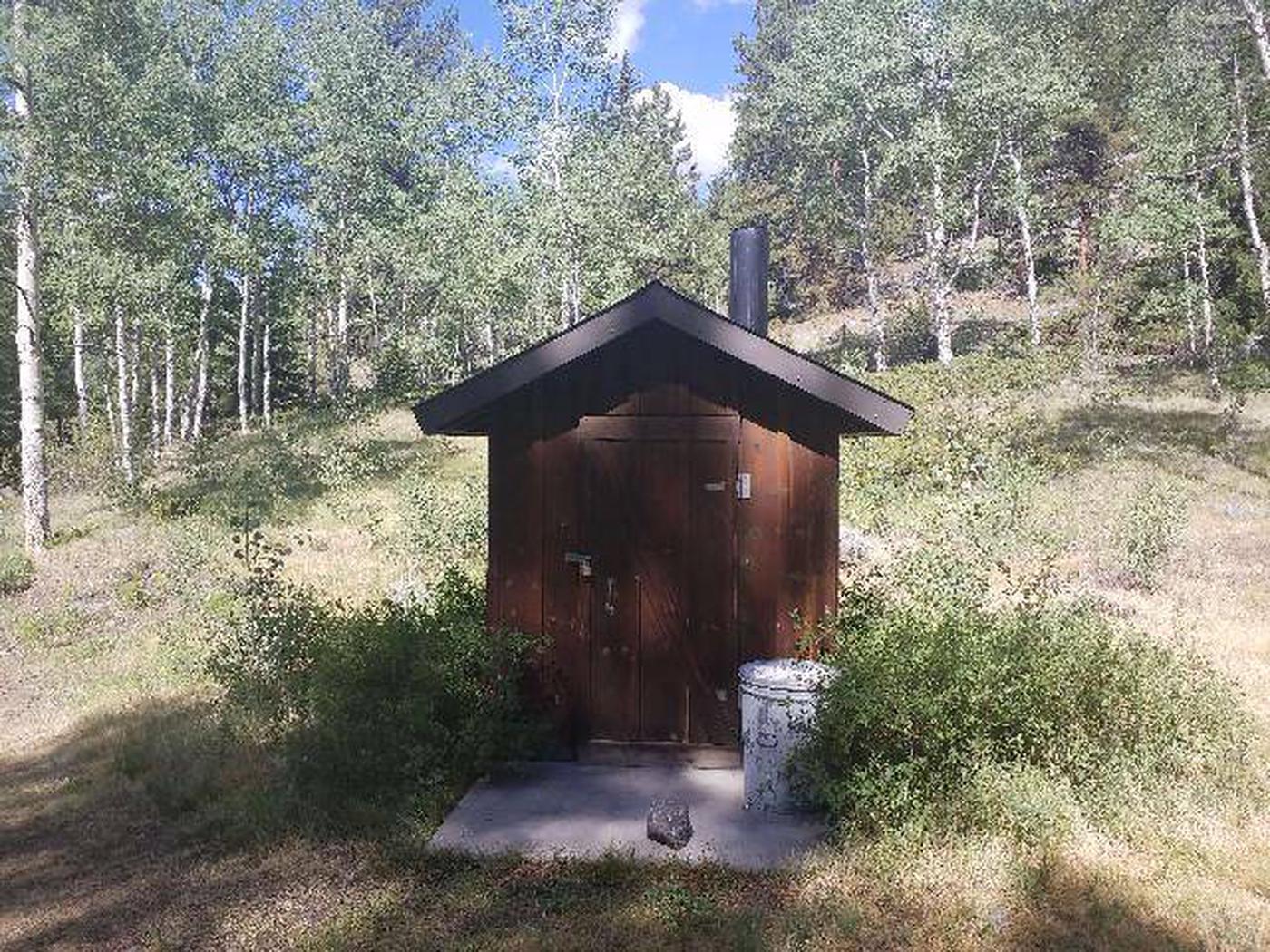 Dawson Cabin vault toilet
