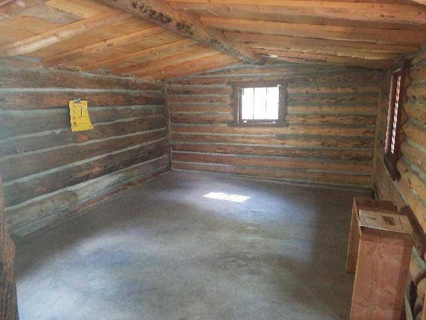 Dawson Cabin interior 3