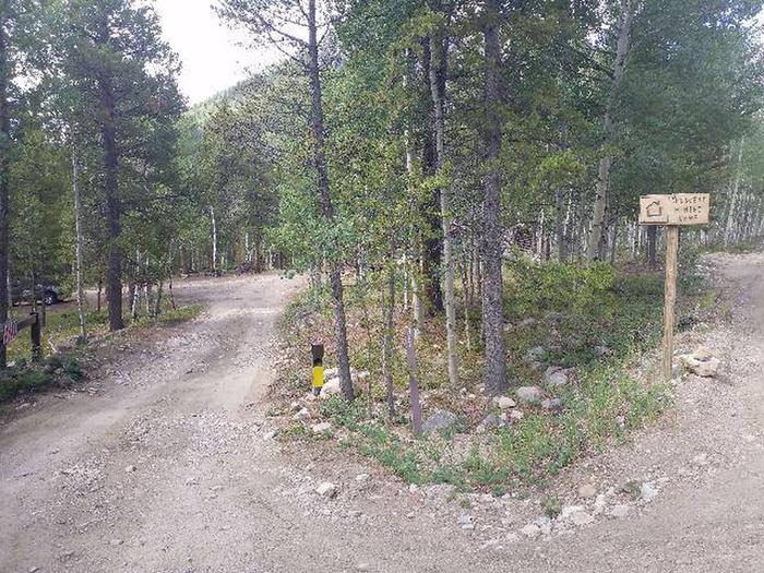 Crescent Mining Cabin marker