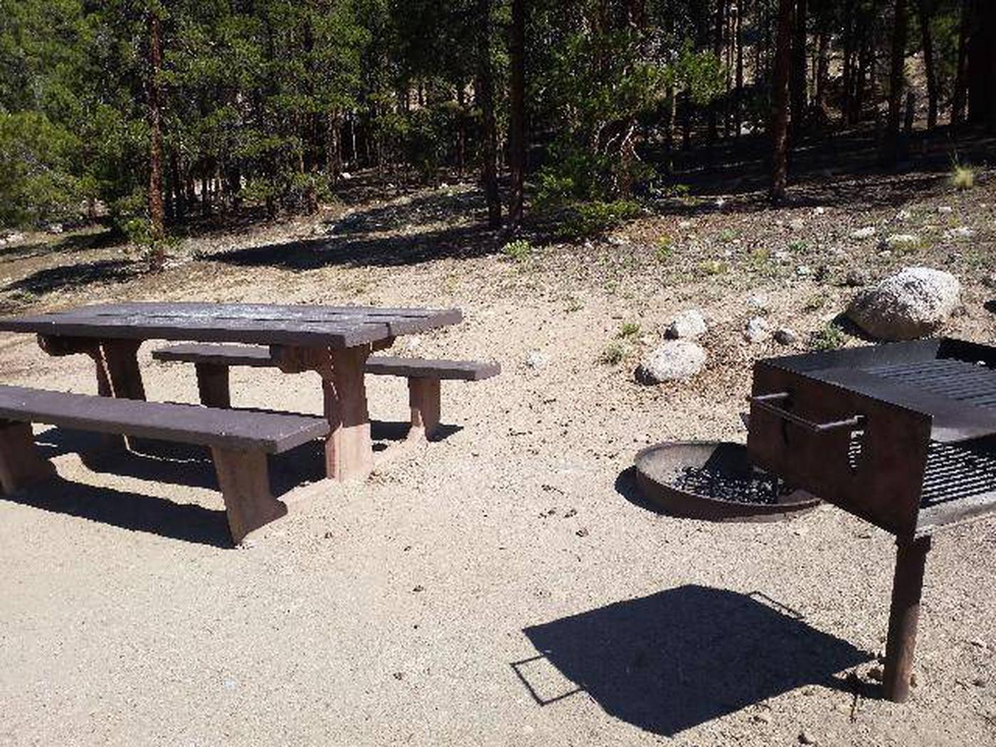 Lakeview Campground, Site A4