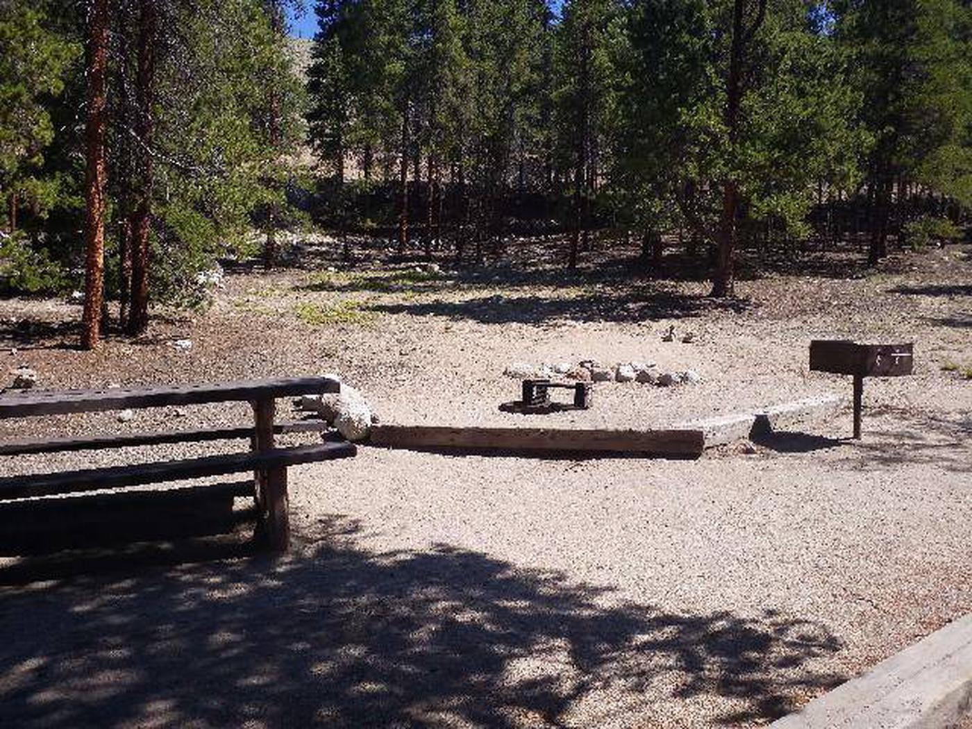Lakeview Campground, Site A6