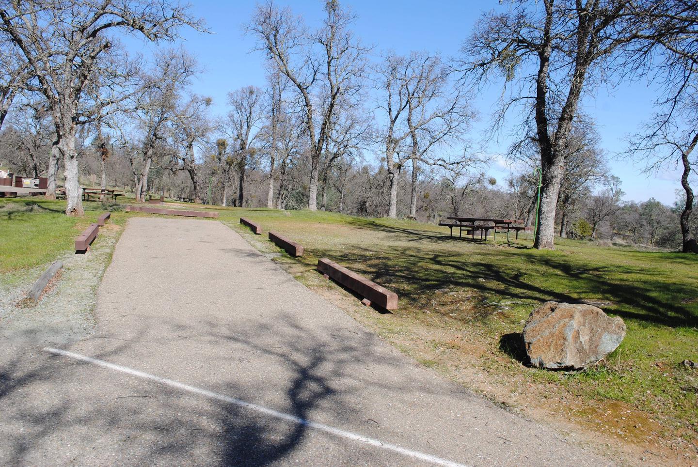 Acorn Campground site 5 parkingSlip