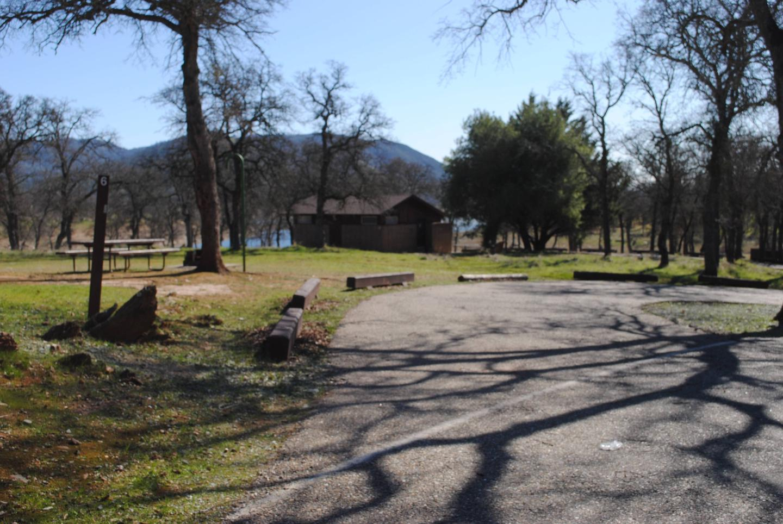 Acorn Campground Site 6Pull through