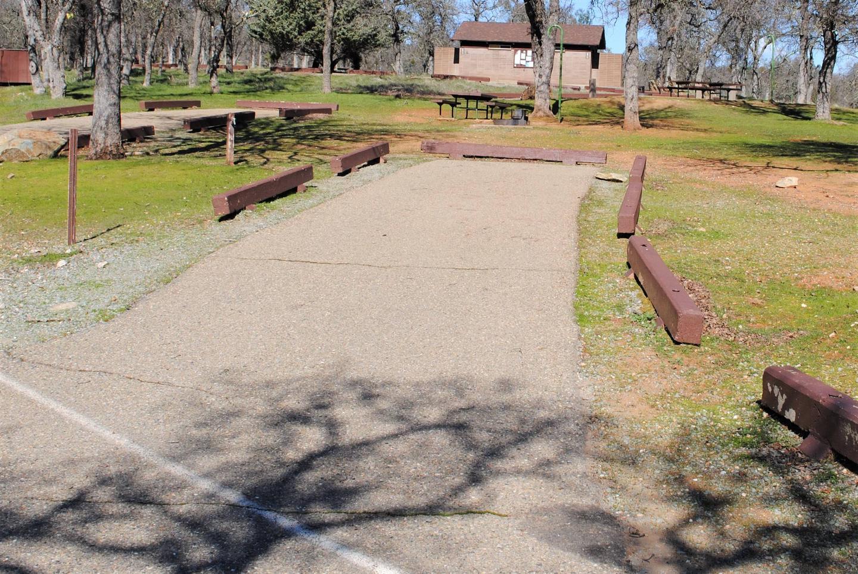 Acorn Campground Site 12 parkingSlip