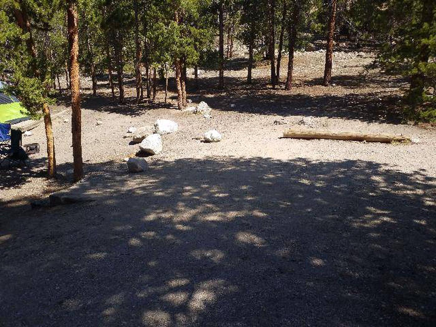 Lakeview Campground, site A8 parking