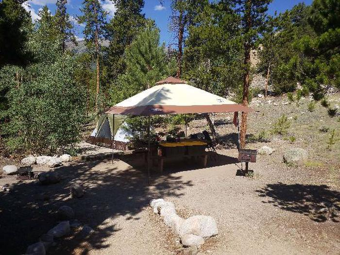 Lakeview Campground, site A9