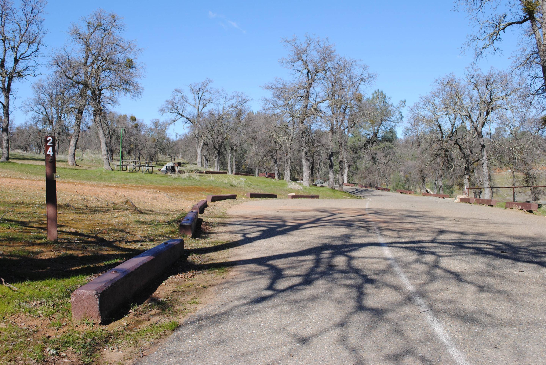Acorn Campground Site 24Pull through