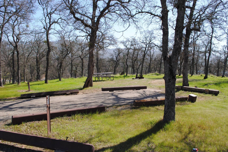 Acorn Campground Site 38Slip