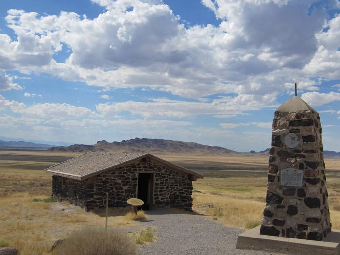 Pony Express Station at Simpson Springs Campground