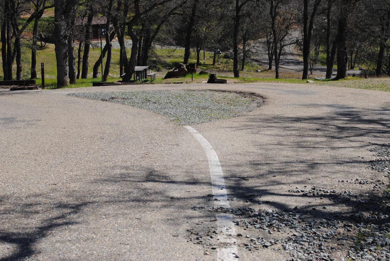 Acorn Campground Site 39 parkingPull through
