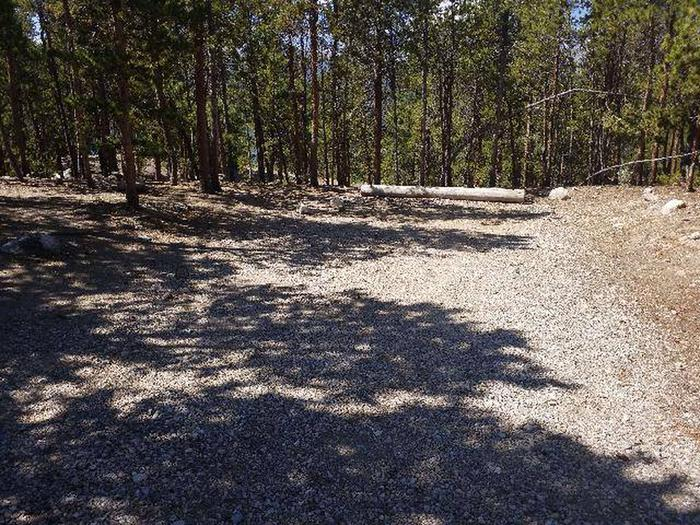 Lakeview Campground, site A11 parking