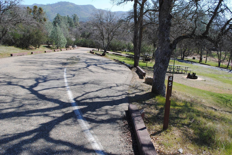 Acorn Campground Site 45Pull through